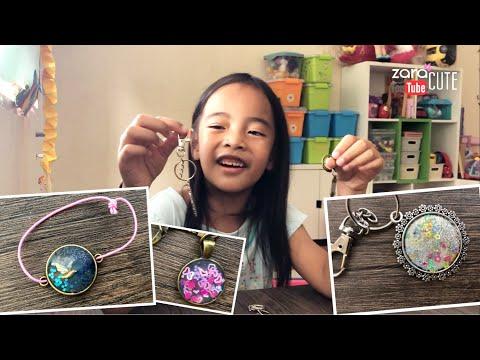 Zara Cute DIY Craft | Kerajinan Membuat Gantungan Kunci | Prakarya Anak | Homeschooling