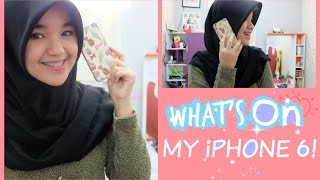 What's on My iPhone 6! ♡ (Indonesia) || Nada Syifaa