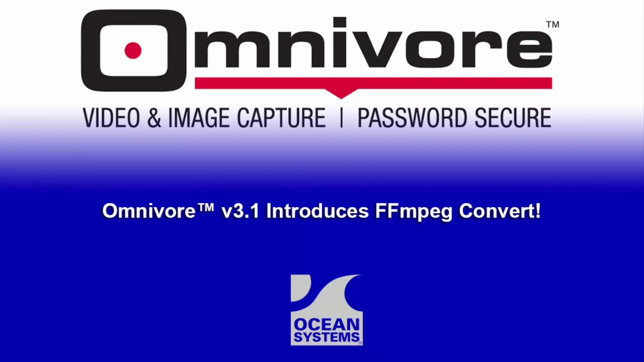Omnivore™ v3 3 Portable Digital Video Processing Tool