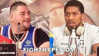 ANDY RUIZ JR. VS. ANTHONY JOSHUA 2 FINAL PRESS CONFERENCE & INTENSE FACE OFF