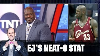 Shaq Gets Quizzed on His Old Jersey Numbers | EJ