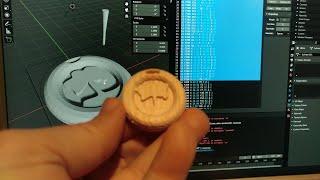 BLECOLAC - 3DPrinter CNC/Laser GCode exporter addon for Blender 3D (Carving relief demo)