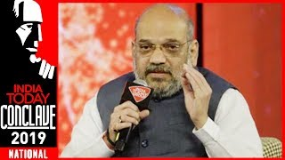 Opposition Wrong To Equate India With Pakistan : Amit Shah   India Today Conclave 2019