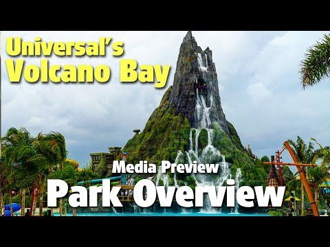 Universal's Volcano Bay Water Theme Park Media Preview Overview