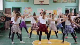 танец девушек 9 класса