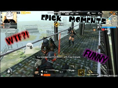 PUBG - WTF , Funny And Epic Moments