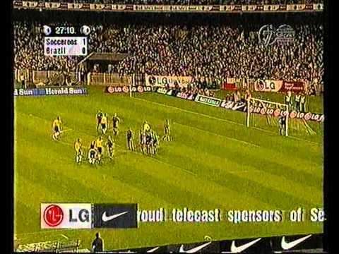 Australian Socceroos Vs Brazil Match 2 1999 1st Half