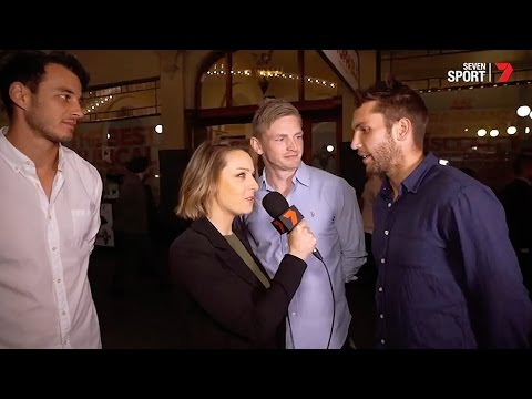 Roos hit the theatre (Channel Seven)