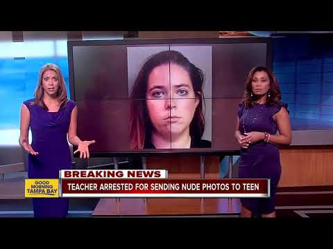High school teacher arrested for sending nude photos to 15-year-old boy she met through Xbox One thumbnail