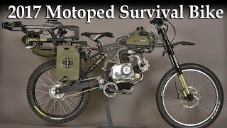 2017 Motoped Survival Bike - The Ultimate Machine For Adventurer
