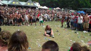 Vans Warped Tour 2010 Merriweather Post Wall of Death Suicide Silence Video by Ted Van Pelt