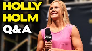 UFC 194: Holly Holm Q&A (complete)