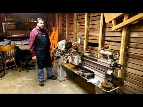 14.5 South Bend Metal Lathe - Part 1