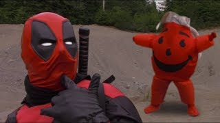 Deadpool 2 vs Kool Aid Man