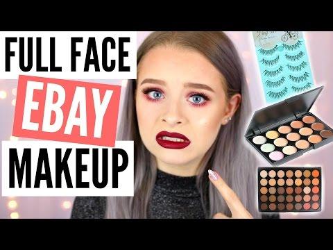 FULL FACE OF EBAY MAKEUP!! | sophdoesnails