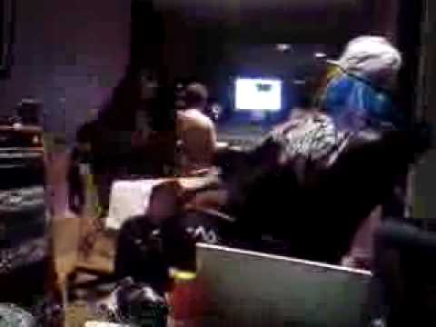 Mary Griffin Recording With George Clinton (Music World Music Studios)