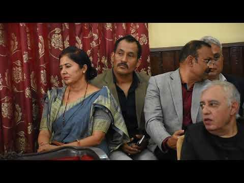 Don Ganesh Lama Nepali Congress ma prabesh.GorakhbhumiNews.com