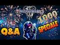 [KINGDOM HEARTS 3™] HO PIANTO QUI.... Q&A SPECIALE 1000 ISCRITTI !!!!