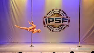 Gyongyi Bodi Tiborne - IPSF World Pole Championships 2018
