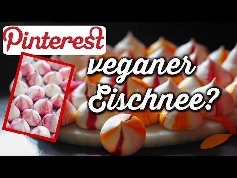 Geht das überhaupt? Veganer Eischnee Pinterest inspired |yummypilgrim