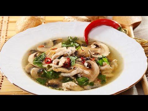 Как приготовить суп с вешенками