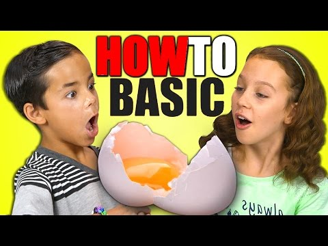 KIDS REACT TO HOWTOBASIC