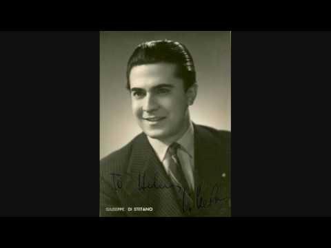 GIUSEPPE DI STEFANO SINGS