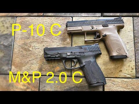 M&P 2.0 Compact VS CZ P-10 C  -  If I Could Only Have One...