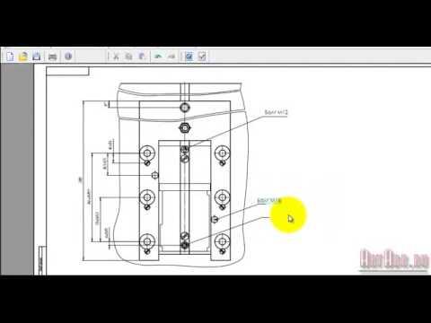 Как изменить чертеж в pdf