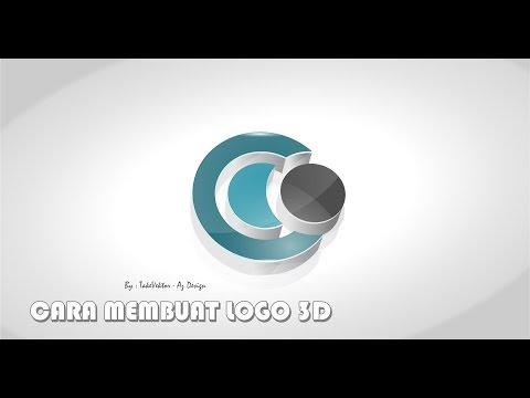 Cara membuat logo 3D dengan coreldraw X7.