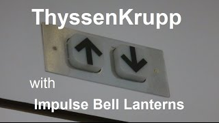 ThyssenKrupp Traction Elevator at Jesse Jones Public Library in Houston, TX. with alexmcferren thumbnail