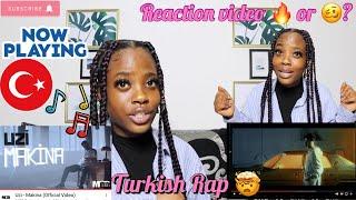 Uzi - Makina  TURKISH RAP REACTION Resimi