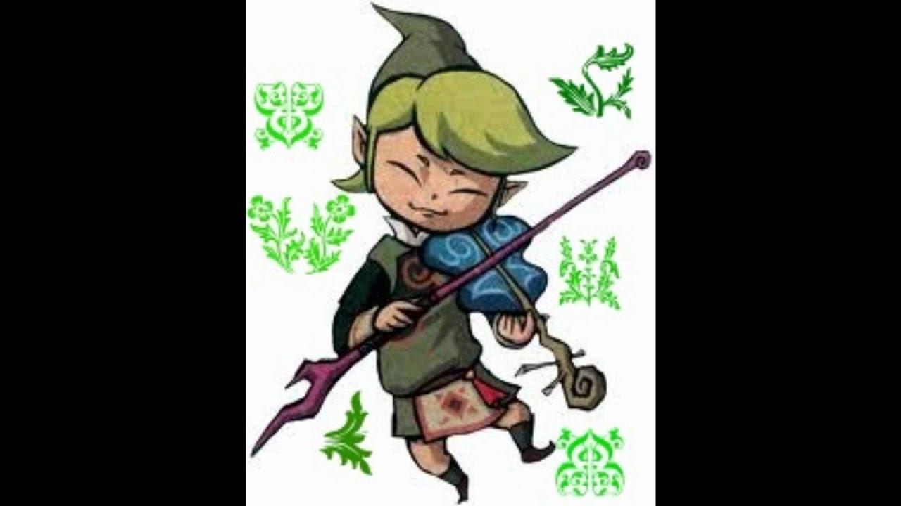 Zelda wind waker medolie hot-9305