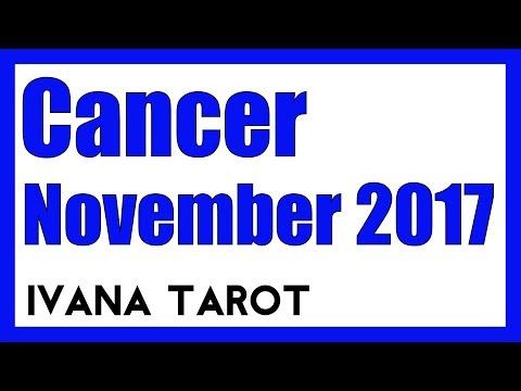 💘 Ivana Tarot - Cancer Reading for November 2017
