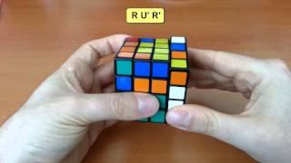 """4x4x4 Küp Çözümü-6 """"Kenarların 3-2-3 Eşlemesi"""""""