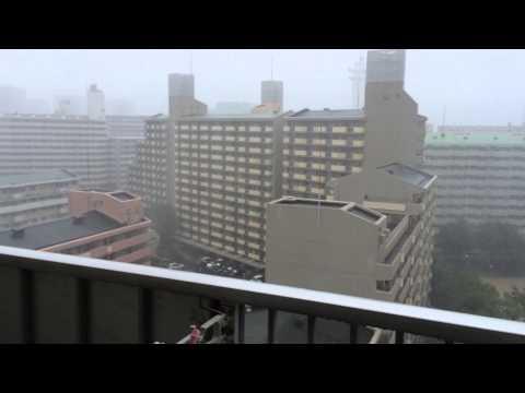Impressive rain! - Typhoon Halong