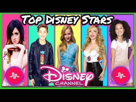 Top Disney Stars Musical.ly Battle | Best Disney Channel Stars New Musically 2017