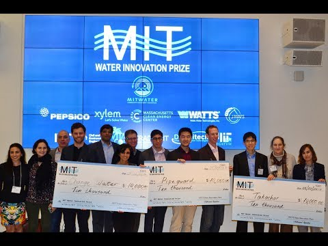 2017 MIT Water Innovation Prize Final Pitch Event Full Video
