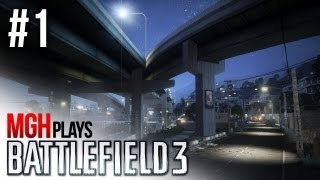 Mgh Plays: Battlefield 3 with Elin & Redcoat! #1
