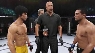 Bruce Lee vs. Diego Brandao (EA Sports UFC 2) - CPU vs. CPU