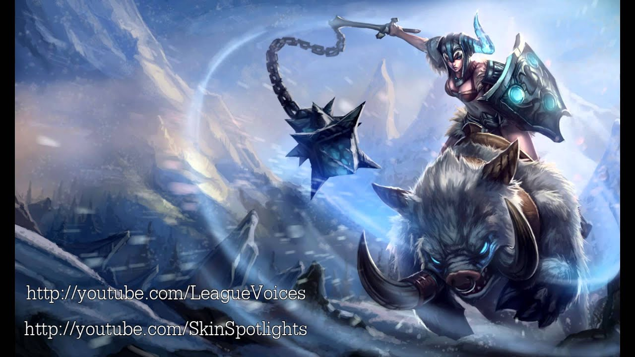 Sona Voice - English - League of Legends - YouTube