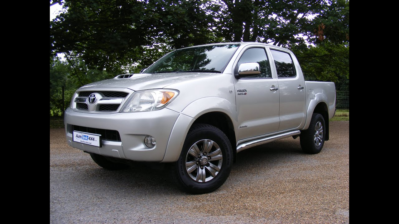 Good 2007 Toyota Hilux D4d Invincible Double Cab For Sale