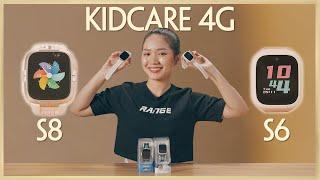 Đánh giá đồng hồ định vị trẻ em KIDCARE 4G S6 | S8