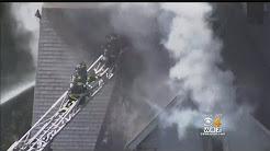 Firefighter Severely Burned Battling Everett House Fire