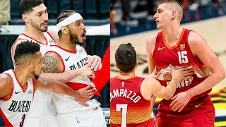 """NBA """"Playoffs are HEATED ️🔥"""" MOMENTS - Part 1"""