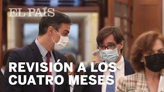 SÁNCHEZ propone a CASADO una revisión del estado de alarma a los cuatro meses