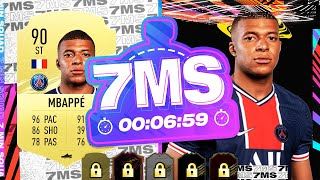 THE GOAT 90 KYLIAN MBAPPÉ!! 7 MINUTE SQUAD BUILDER - FIFA 21 ULTIMATE TEAM