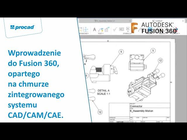 Wprowadzenie do Fusion 360, opartego na chmurze zintegrowanego systemu CAD/CAM/CAE. | NetCafe