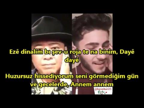 Begin Baran Bari 海の声 Lê Dayê Türkçe Kürtçe Altyazı Tirkî