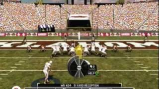 NCAA Football 11 Game Demo Walkthrough Gameplay HQ [Xbox 360]